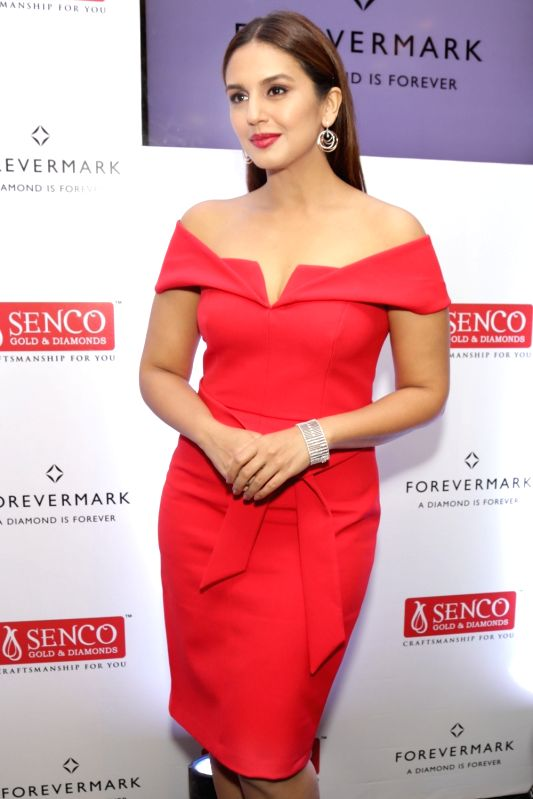 Actress Huma Qureshi during a programme in Noida on April 17, 2017. - Huma Qureshi