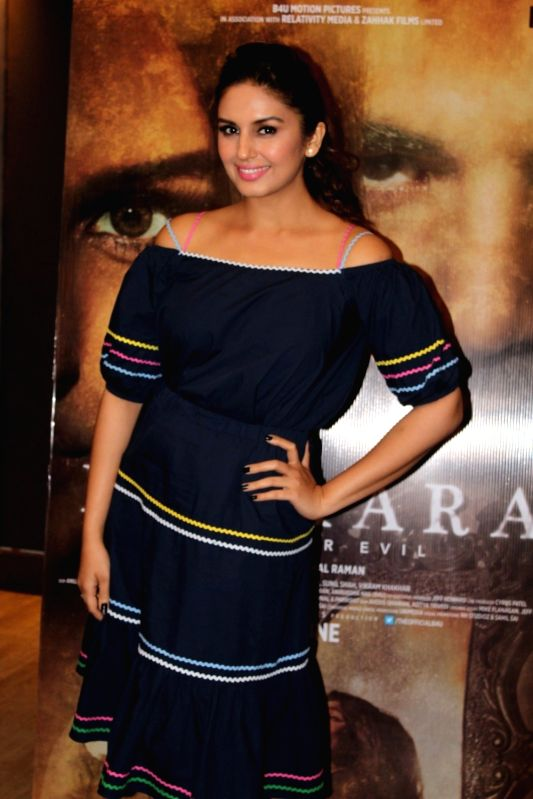 "Actress Huma Qureshi during an interview for film ""Dobaara""  in Mumbai on May 11, 2017. - Huma Qureshi"