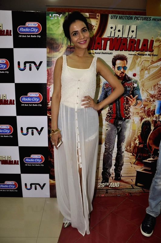Actress Humaima Malik during the launch of song Kal They Mile from their film Raja Natwarlal in Mumbai on July 30, 2014. - Humaima Malik