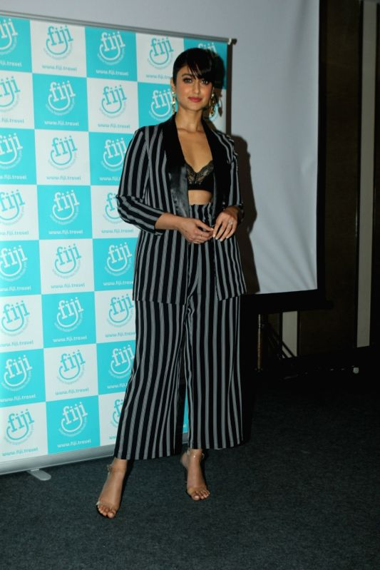 "Actress Ileana D'Cruz announced the brand ambassador of ""Bula Tourism Fiji"" in Mumbai on Aug 6, 2018. - Ileana D'Cruz"
