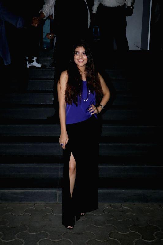 "Actress Ishita Chauhan at the special screening of film ""Mulk"" in Mumbai on Aug 2, 2018. - Ishita Chauhan"