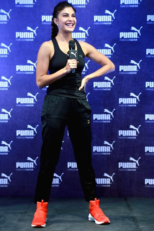 Actress  Jacqueline Fernandez during a programme in New Delhi, on April 7, 2016. - Jacqueline Fernandez