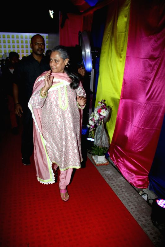Actress Jaya Bachchan during the the launch of DVAR luxury multi designer store launch in Mumbai  on May 06, 2014 - Jaya Bachchan