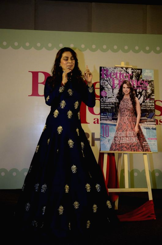 Juhi Chawla During An Event For Better Homes And Gardens