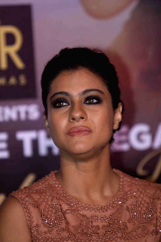 Actress Kajol during the Sneak Preview of film Dilwale in Mumbai on Dec 11, 2015. - Kajol