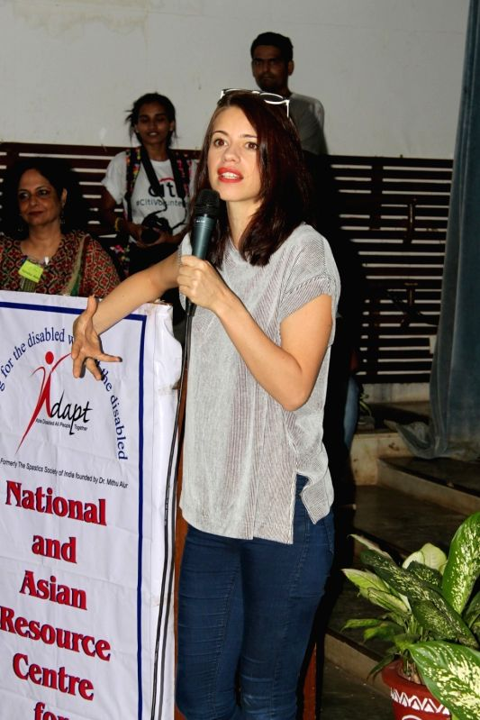 Actress Kalki Koechlin during a event in Mumbai, on June 3, 2017. - Kalki Koechlin