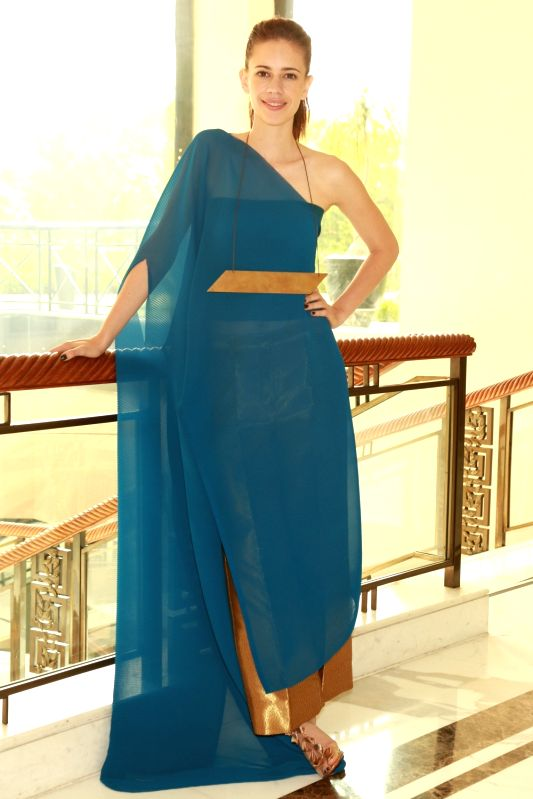 "Actress Kalki Koechlin during a press meet to promote her film ""Waiting"" in New Delhi, on May 27, 2016. - Kalki Koechlin"