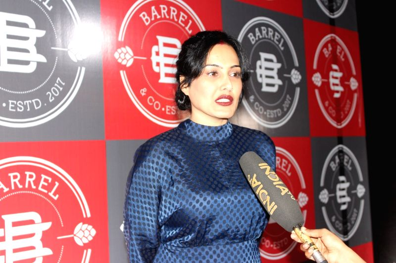 Actress Kamya Panjabi during a programme in Mumbai on Feb 1, 2018. - Kamya Panjabi