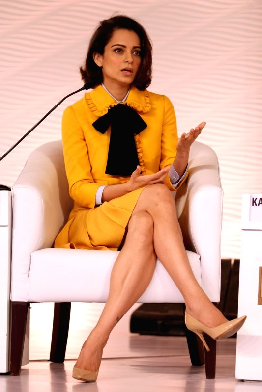 Actress Kangana Ranaut at the HT Summit 2015 in New Delhi, on Dec 4, 2015.