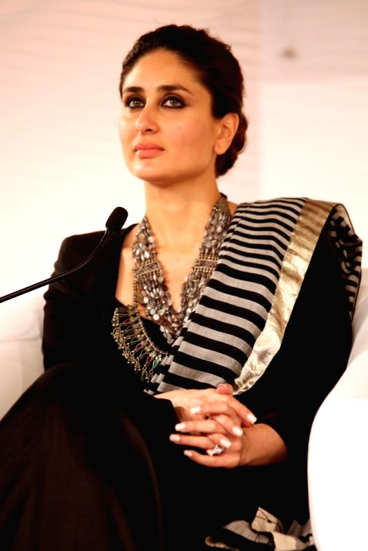 Actress Kareena Kapoor at the HT Summit 2015 in New Delhi, on Dec 4, 2015.