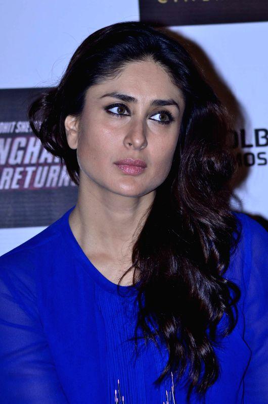 Actress Kareena Kapoor during the launch of film Singham Returns in Mumbai on 30 July 2014. - Kareena Kapoor