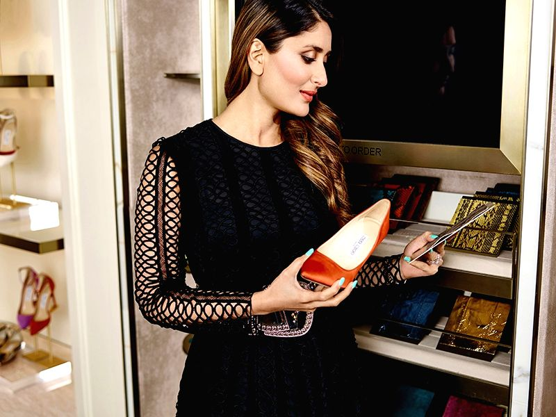 Actress Kareena Kapoor Khan visits Jimmy Choo's store in Mumbai on July 20, 2016. - Kareena Kapoor Khan
