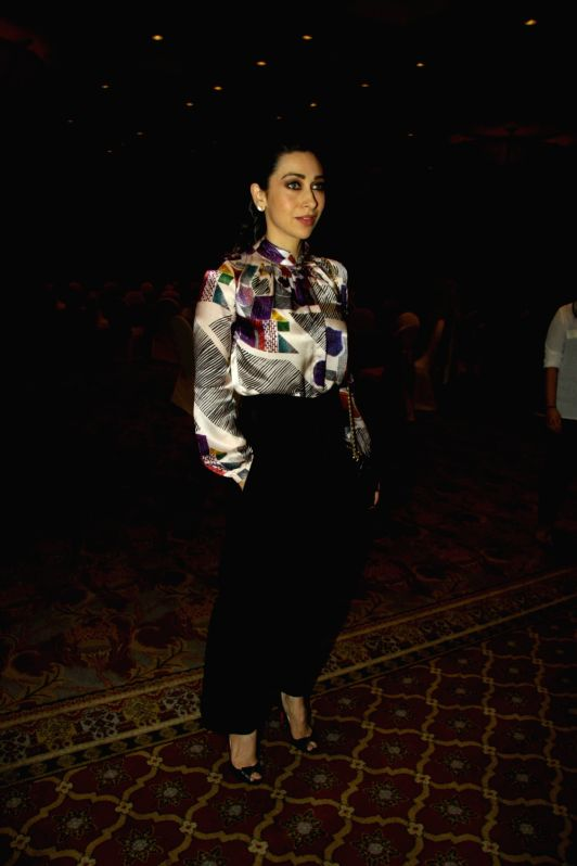 Actress Karishma Kapoor during the Panel Discussion on occasion of `World Diabetes Week` organised by All India Opthalmological Society in Mumbai on Nov 16, 2015. - Karishma Kapoor