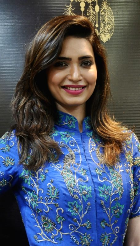 Actress Karishma Tanna at the launch of a fashion store in New Delhi, on May 1, 2016. - Karishma Tanna
