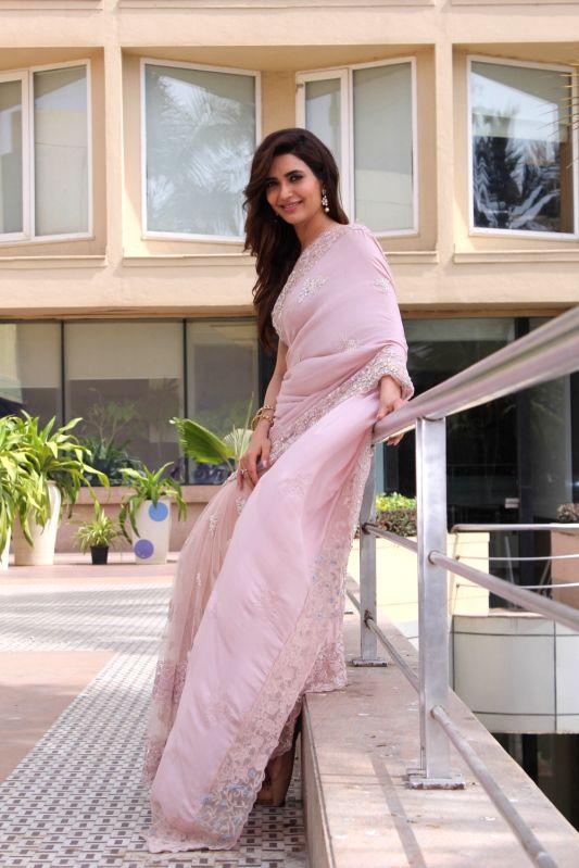 """Actress Karishma Tanna at the launch of their upcoming show """"Naagin 3"""" in Mumbai on May 15, 2018. - Karishma Tanna"""