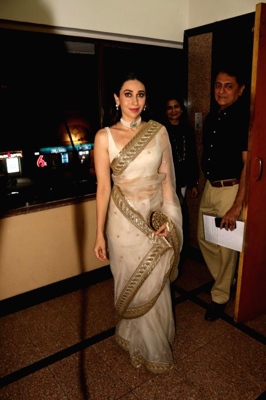 "Actress Karisma Kapoor at the ""Extraordinary Women Award"" in Mumbai on March 7, 2018. - Karisma Kapoor"