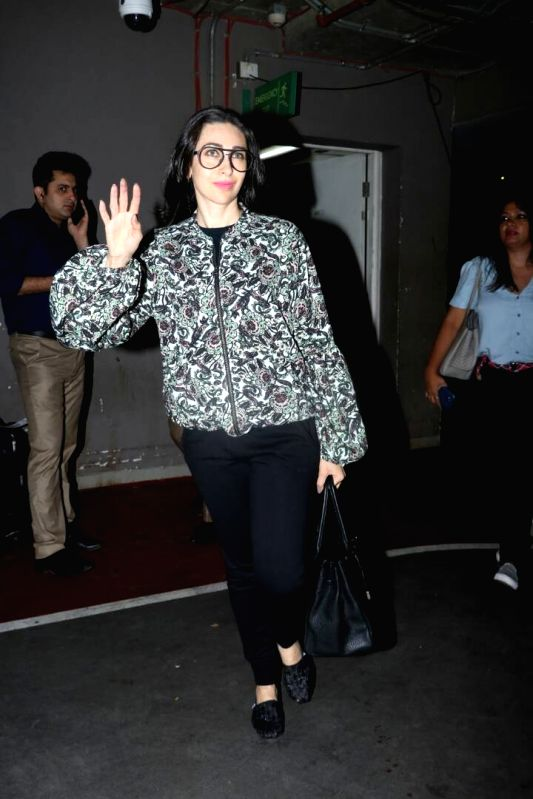 Actress Karisma Kapoor spotted at airport in Mumbai on June 9, 2017. - Karisma Kapoor