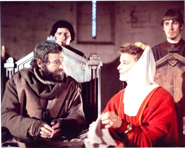 "Actress Katharine Hepburn with Peter \'O Toole in her Oscar-winning performance in ""The Lion In Winter\"" - Katharine Hepburn"