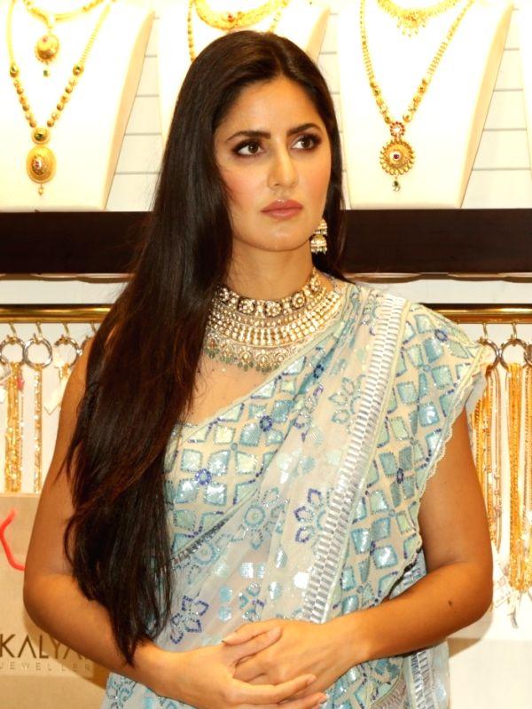 Actress Katrina KAif at the launch of a jewellery store, in New Delhi, on July 22, 2018. - Katrina K