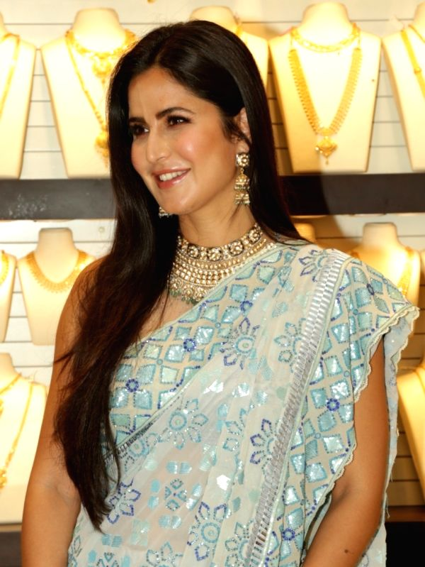 Actress Katrina KAif at the launch of a jewellery store, in New Delhi, on July 22, 2018.