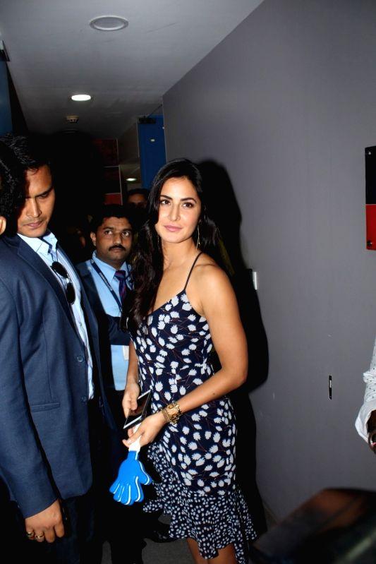 Actress Katrina Kaif during the promotion of film Jagga Jasoos at Radio City in Mumbai, on June 13, 2017. - Katrina Kaif