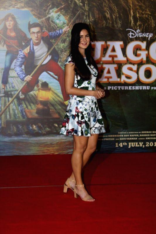 "Actress Katrina Kaif during the song launch of her upcoming film ""Jagga Jasoos"" in Mumbai on June 9, 2017. - Katrina Kaif"