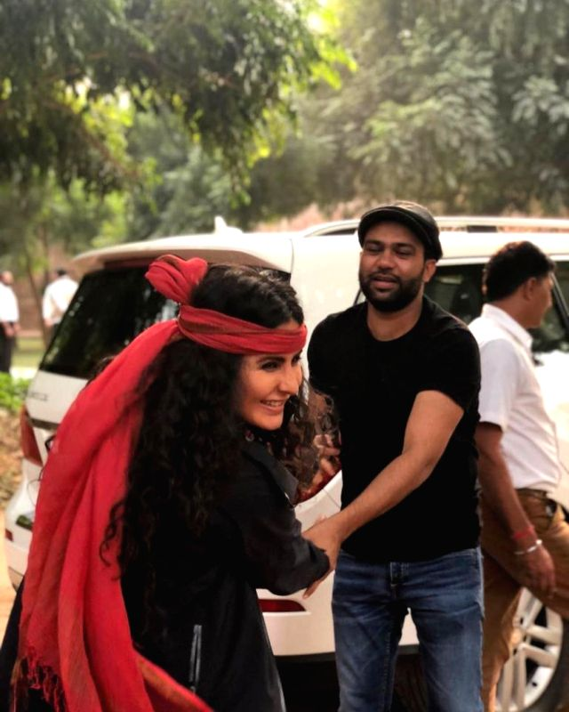 Actress Katrina Kaif has worked with Ali Abbas Zafar on many films, but on the director's birthday on Sunday, she shared a glimpse of their friendship with her fans.