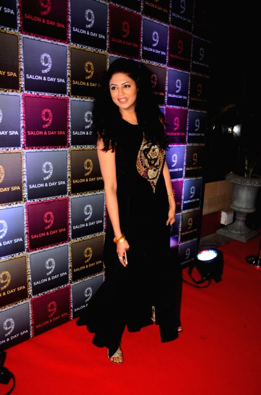 Actress Kavita Kaushik during the launch of a Salon and Spa in Mumbai on  April 21, 2017. - Kavita Kaushik