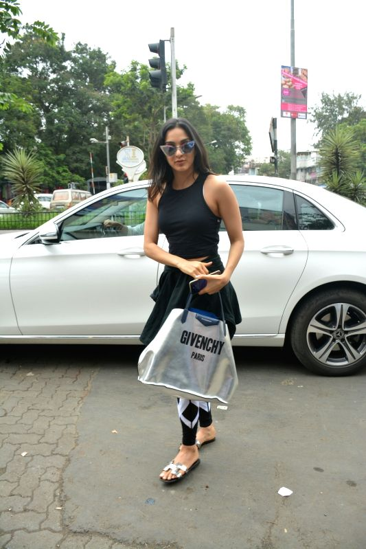 Actress Kiara Advani seen at Mumbai's Bandra on July 31, 2018. - Kiara Advani