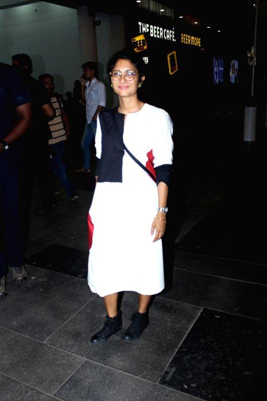 Actress Kiran Rao potted at PVR cinema in Mumbai on May 24, 2017. - Kiran Rao