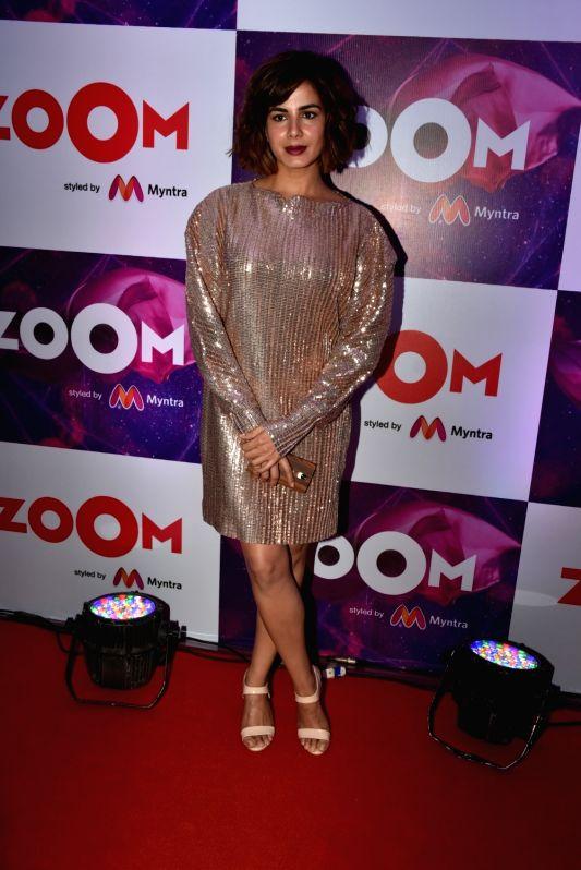 "Actress Kirti Kulhari at the launch of new logo - ""Zoom styled by Myntra"" in Mumbai on April 19, 2018 . - Kirti Kulhari"