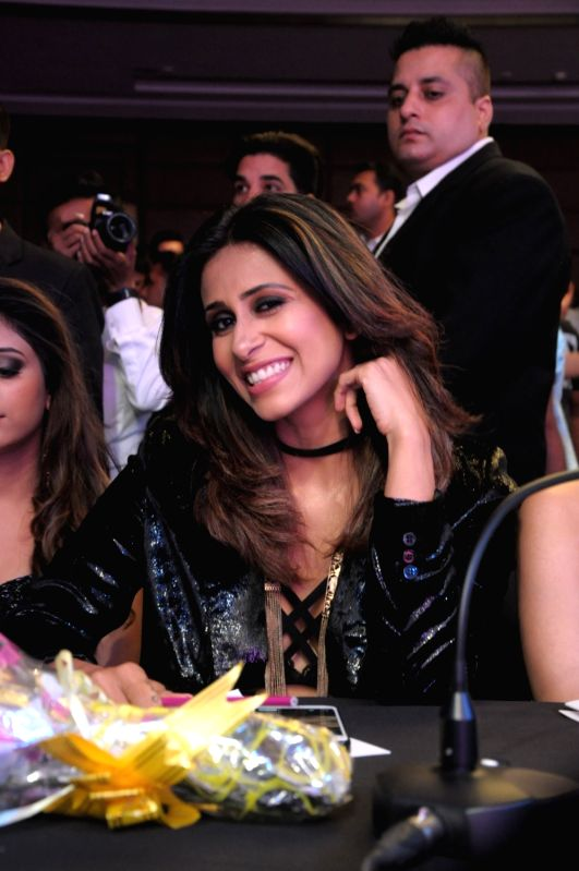 Actress Kishwar Merchant during the grand finale of Mr. & Miss 2018 and Mrs. 2018 India in New Delhi on July 19, 2018. - Kishwar Merchant