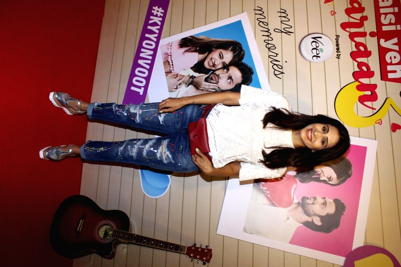 "Actress Kishwer Merchant Rai at the launch of her web series ""Kaisi Yeh Yaariaan 3"" in Mumbai on May 15, 2018. - Kishwer Merchant Rai"