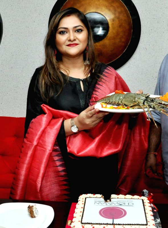 Actress Koneenica Banerjee at the launch of a restaurant's outlet, in Kolkata on July 12, 2018. - Koneenica Banerjee