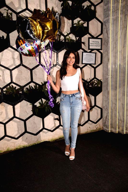 Actress Kriti Kharbanda at the producer Dinesh Vijan birthday celebration in Mumbai on July 26, 2018. - Kriti Kharbanda