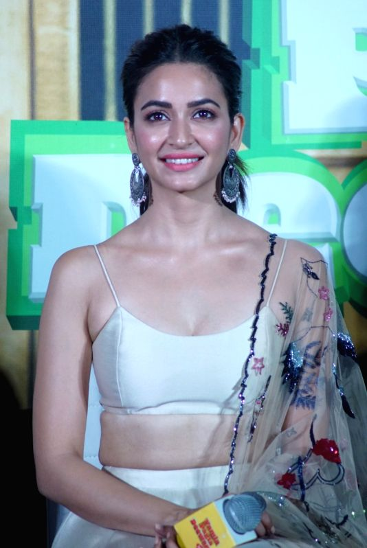 "Actress Kriti Kharbanda at the trailer launch of her upcoming film ""Yamla Pagla Deewana Phir Se"" in Mumbai on Aug 10, 2018. - Kriti Kharbanda"