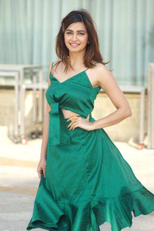 """Actress Kriti Kharbanda during Promotion of film """"Veere Di Wedding"""" in Mumbai on Feb 13, 2018. - Kriti Kharbanda"""