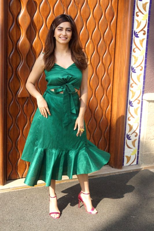 "Promotion of film ""Veere Di Wedding - Kriti Kharbanda"