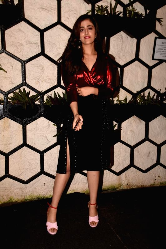 Actress Kriti Sanon's sister Nupur Sanon at the producer Dinesh Vijan birthday celebration in Mumbai on July 26, 2018. - Kriti Sano