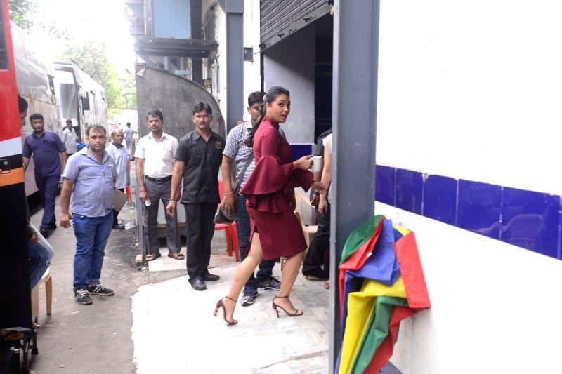 Actress Lara Dutta arrives at Miss Diva and Miss Universe India 2017 in Mumbai on Sept 29, 2017. - Lara Dutta