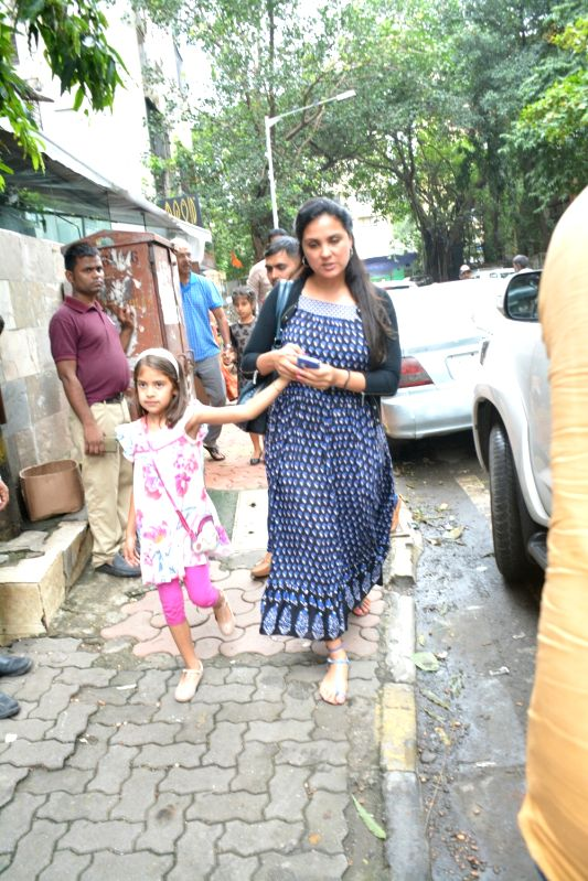 Actress Lara Dutta seen at Mumbai's Bandra,  on July 22, 2018. - Lara Dutta