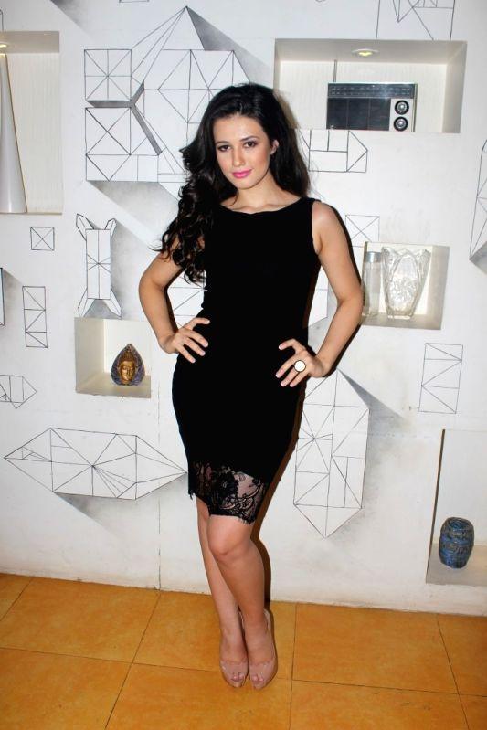 Actress Madalina Bellariu Ion during the photo shoot of upcoming film Dobaara in Mumbai,on May 23, 2017. - Madalina Bellariu Ion
