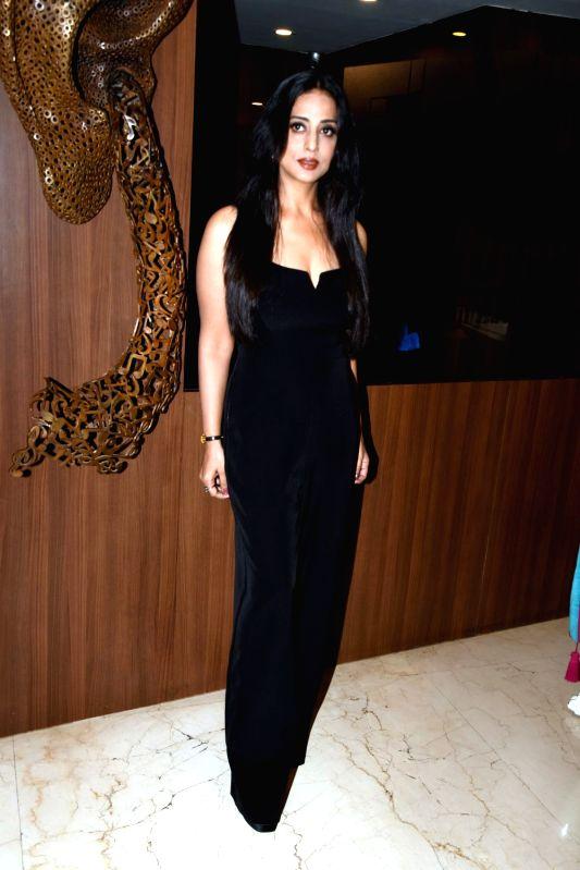 "Actress Mahi Gill during promotional song shoot of upcoming film ""Saheb, Biwi Aur Gangster 3"" in Mumbai on July 16, 2018. - Mahi Gill"