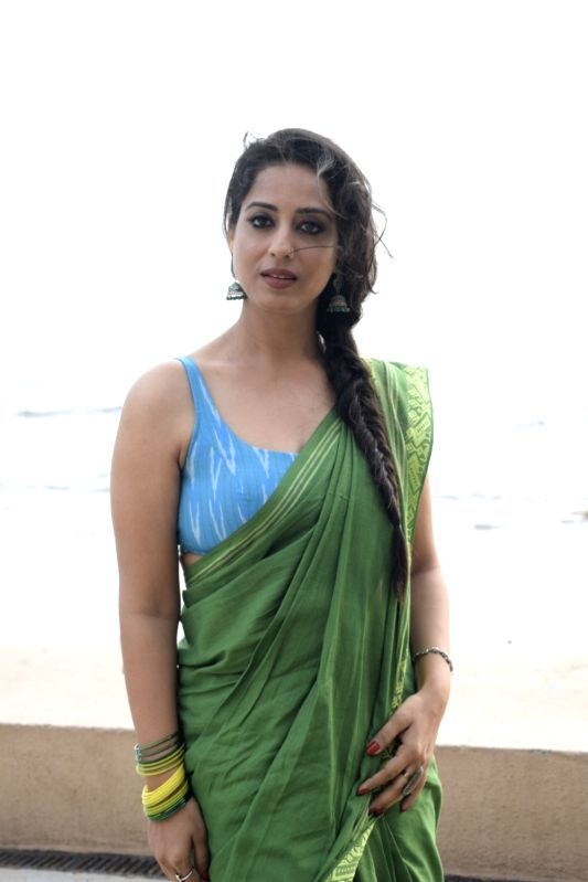 "Actress Mahi Gill during promotions of her upcoming film ""Saheb, Biwi Aur Gangster 3"", in Mumbai on July 19, 2018. - Mahi Gill"