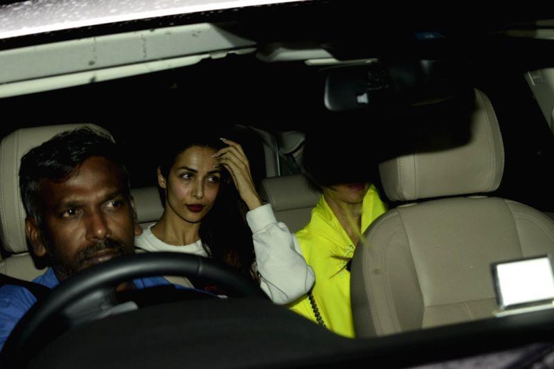 """Actress Malaika Arora at the special screening of upcoming film """"Dhadak"""" in Mumbai on July 18, 2018. - Malaika Arora"""