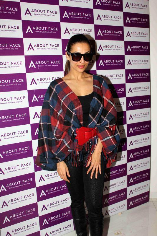 Actress Malaika Arora Khan during the launch of skin care and aesthetics centre in Mumbai on 12th Feb 2015 - Malaika Arora Khan