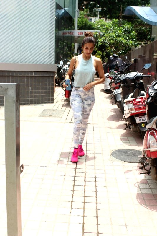 Actress Malaika Arora seen at Mumbai's Bandra. - Malaika Arora