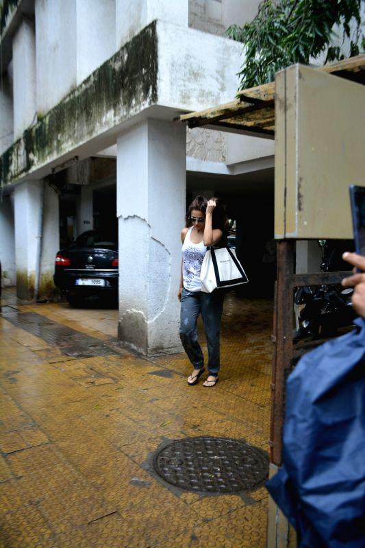 Actress Malaika Arora seen at Mumbai's Bandra on July 23, 2018. - Malaika Arora