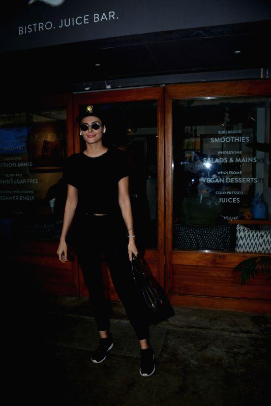 Actress Mandana Karimi seen at Mumbai's Bandra on July 13, 2018. - Mandana Karimi