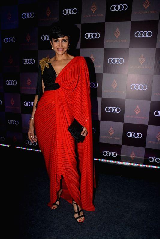 Actress Mandira Bedi at Shantanu and Nikhil's store launch, in Mumbai on Dec 6, 2018. - Mandira Bedi